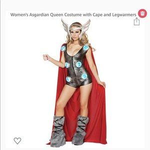 Asgardian Queen halloween costum